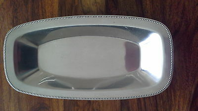 Vintage Old Hall Oblong  Serving Dish Designed By  R.welch ?