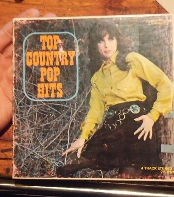 Top Country Pop Hits  7.5 Ips 4Track Reel To Reel
