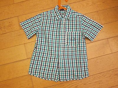 Chemise manches courtes Sergent Major taille 7 ans TBE