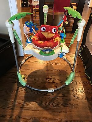 FISHER PRICE JUMPEROO Baby Jumper Bouncer Learn To Stand
