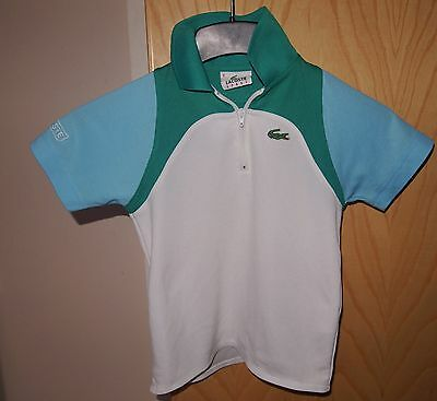 Boys Lacoste Sports Polo Shirt size 6 years