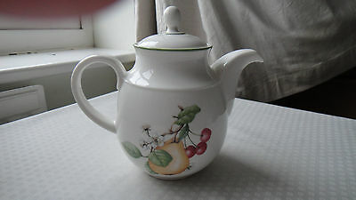 Large teapot in the Ashberry pattern by Marks & spencer Ltd., England.