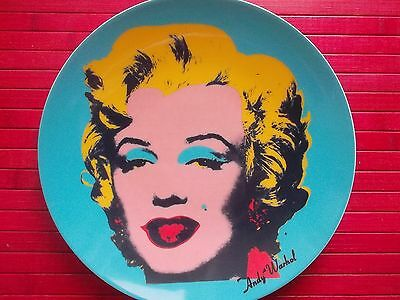 RARE PLASE DISH ROSENTHAL ANDY WARHOL n° 190/500 ~ ONLY 500 ITEMS IN WORLD