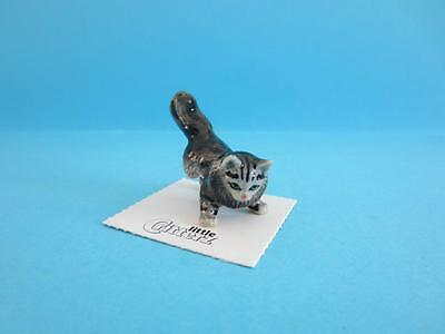 Retired Little Critterz Serendipity ''fanny'' Cat Figurine With Poem *mint*