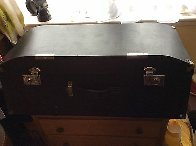 VINTAGE CAR LUGGAGE TRUNK  / CHEST 1930s CLASSIC CAR WITH KEYS