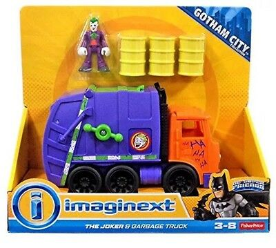 Imaginext The Joker & Garbage Truck Figure and Vehicle