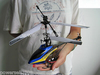Blue Length 28.7CM Remote Control Plane Helicopter Model Gift Children Toys