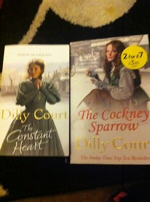 Dilly Court Books The Constant Heart And The Cockney Sparrow