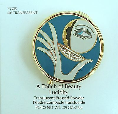 Estee Lauder Extremely Rare Touch Of Beauty Solid Powder Compact Vtg Bnib