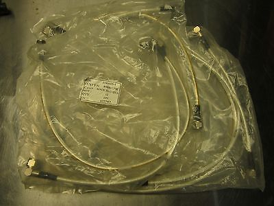 Lot of 8 AMP RF Cables N-type Right Angle to Ntype Male NEW!