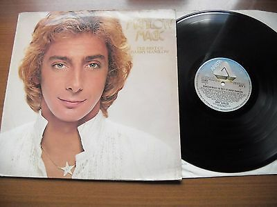 Barry Manilow Lp - Manilow Magic The Best Of Barry Manilow