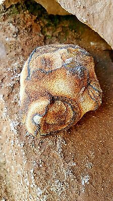 Raw Untreated Moqui Shaman Healing Meditation Stone