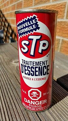 STP Gas Treatment 8 oz Tin Can Canadian Not To Be Added to Motor Oil