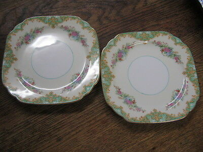 Two Small Noritake Plates (Free Collection option)