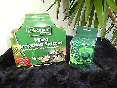 Micro Irrigation System + 2 Hour WaterTimer - BNIB