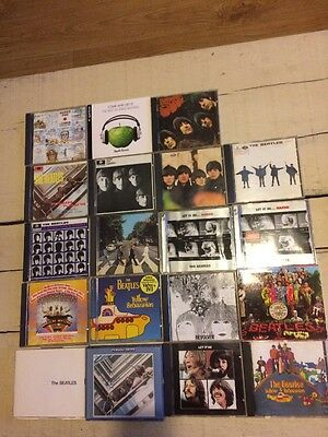 Job Lot Of Beatles And Related Cds