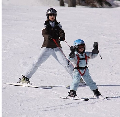 Skiing For The First Time - Children's Easy Turn Harness
