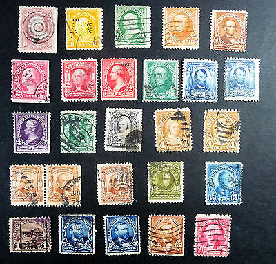 USA United States of America Old / Early Collection of Stamps Presidents #1059