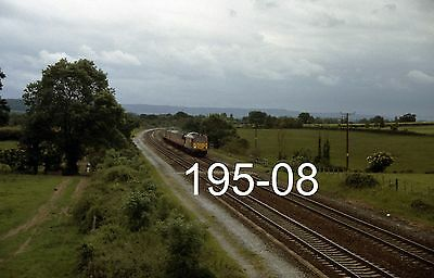 Original 35mm colour slide of 67028 at Charlton with Bristol mail (195-08)