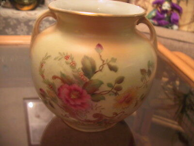 Vintage Wardle Ware balloon style vase with handles