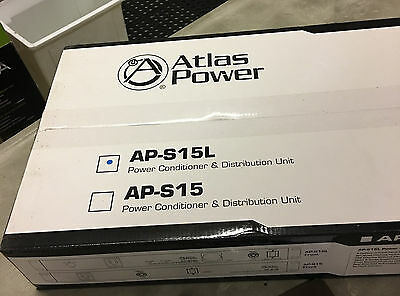 Atlas AP-S15L 15A Power Conditioner and Distribution Unit NEW IN BOX