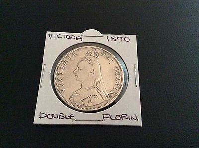1890 Queen Victoria Double Florin