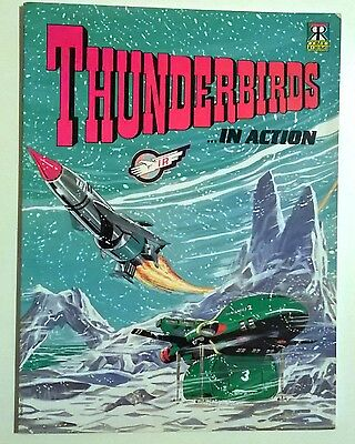 Thunderbirds in Action by Gerry Anderson (Paperback, 1992)