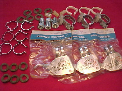 Vintage Sturmey Archer 3 speed hub replacement parts, lot 444 nos