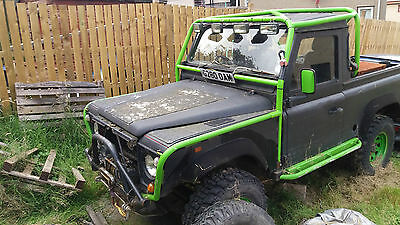 1989 LAND ROVER 90 pick up offroader unfinished project
