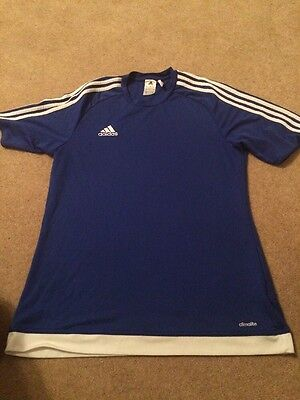 Mens Adidas Climalite Running Top Size L