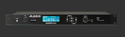 Alesis Sample Rack USB SD Percussion Drum Module with Onboard Sound Storage