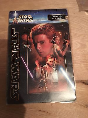 Star Wars Attack of the Clones Computer Mousepad in Packaging Anakin Skywalker