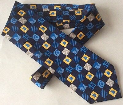 HIGH Q OFFICIAL ATHENS 2004 Olympics Men's Silk Tie
