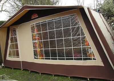 CABANON  CANVAS FRAME TENT 6 MAN Family Tent