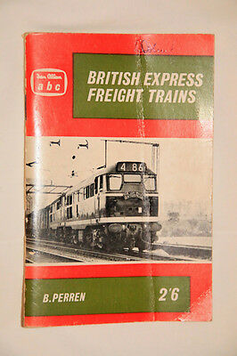 British Express Freight Trains. -1961/62 Timetable