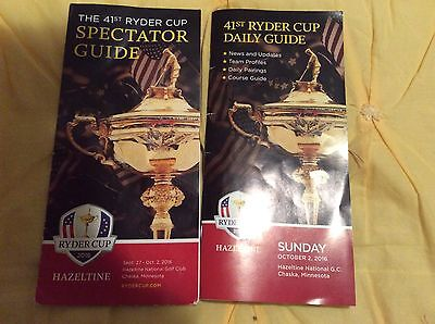 Ryder Cup 2016 Golf Sunday Guide And Spectator Guide , Hazeltine