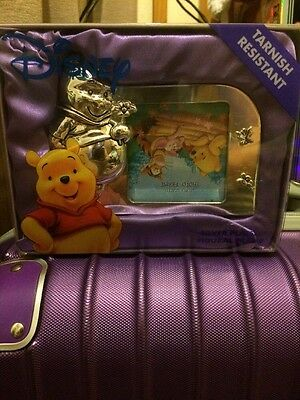 Winnie The Pooh Silver Plated Frame Brand New