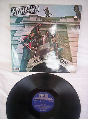 Wild Angels, Out At Last, 1972, Very Good+ Condition