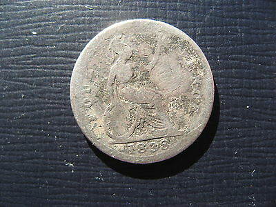 Victoria Fourpence/Groat 1838.