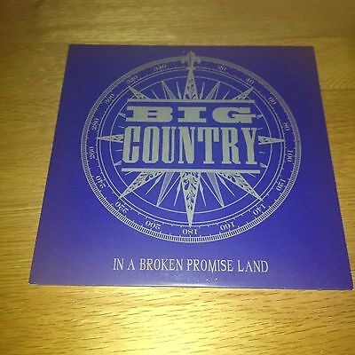 """Big Country - In A Broken Promise Land - 7"""" Vinyl Record Store Day - Rarities"""