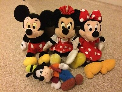 bundle of disney soft toys