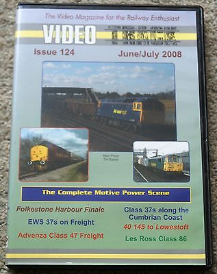 Video Track Issue 124 June/July 2008, class 37's, 47 freight, and lots more