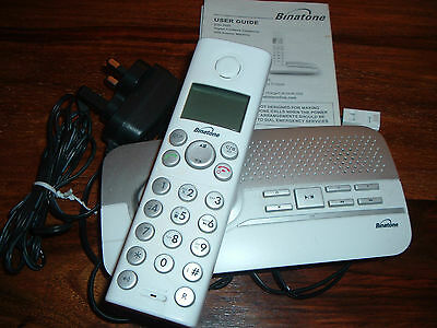 Binatone Elite 2025 Digital Cordless Phone With Answer Machine
