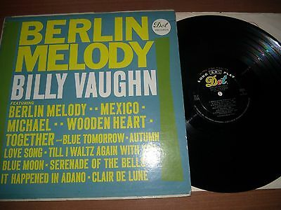 Billy Vaughn Orchestra Lp Lot Of 2 - Berlin Melody/the Shifting Whispering Sands