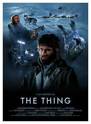 The Thing Alternative Movie Poster Print by Brian Taylor NT Mondo