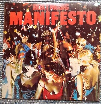 Roxy Music-Manisfesto Rare Portugal Vinyl Record Lp Ex Condition 1979