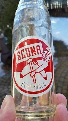 Scona Beverages Consolidated Fruit Co Calgary Alberta Canada ACL Soda Pop Bottle
