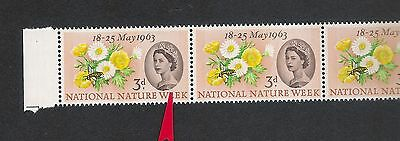 ERROR/FLAW/VARIETY  MNH SG637pa  14/1 retouch over E of WEEK and narrow band