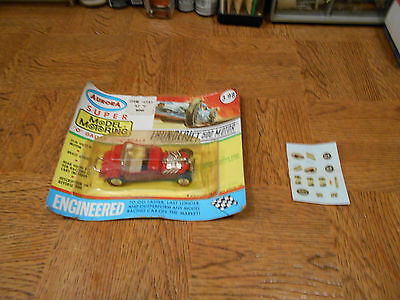 Vintage Aurora O Gauge ' 27 T-Roadster W/blister Card & All Accessories !!!!!!!!