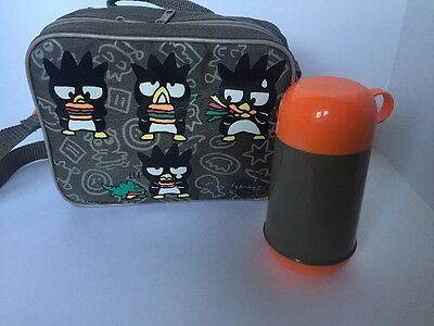 Great Condition Clean Sanrio Badtz Maru Insulated Lunch Bag With Thermos